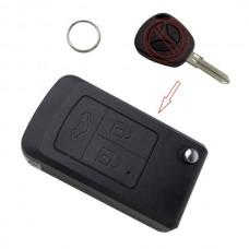 Корпус ключа LADA для модификации во флип, 3 кнопки