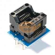 Адаптер для программатора SOP16 - DIP16 150mil