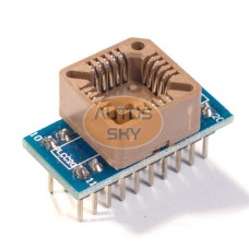 Адаптер для программатора PLCC20 - DIP20