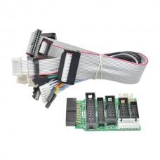Адаптер для программатора J-LINK + 8 шт кабелей