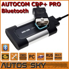 AUTOCOM CDP+ Bluetooth PRO Black for Cars & Trucks & Generic 3 in 1